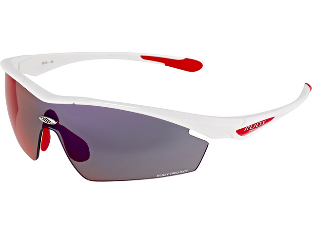 Rudy Project Spaceguard fietsbril rood/wit